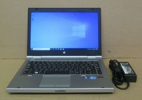 "HP Elitebook 8470p 14"" HD i5-3320M 2.6Ghz 4GB Ram 500GB HDD Win10 Pro Laptop"